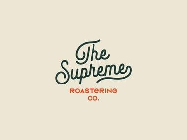 Supreme Roastering Co. Branding