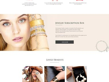 jewelry shop for psd