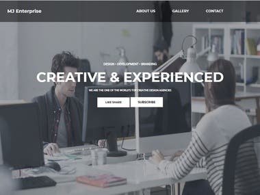 Create Professional Website With In Week With Cheap Rates