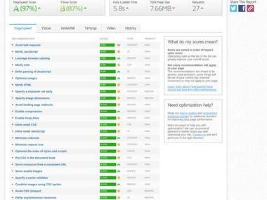 Speed Optimisation - http://wombatviral.nz/