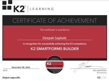 K2 Smartforms Builder