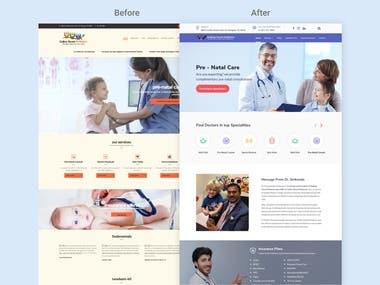 Medical Site Redesign