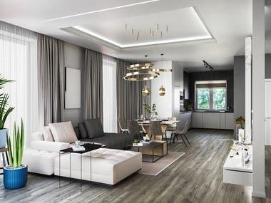 Bryukhovychi Apartment Design