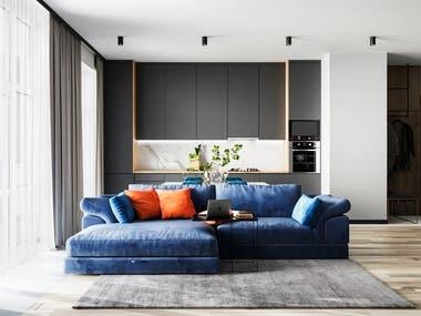 Apartment design AVALON PENTHOUSE