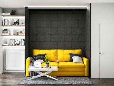 Apartment design IT Flat