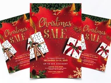 Christmas-Sale Flyer