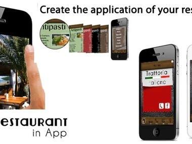 Restaurant In App