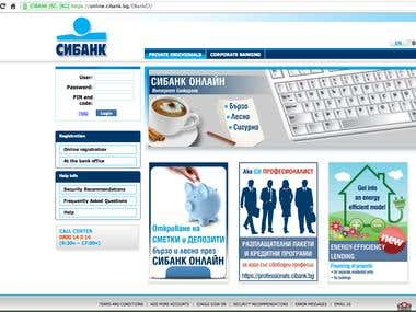 Home page of CIBANK ONLINE
