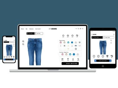 Responsive Website for DYJeans