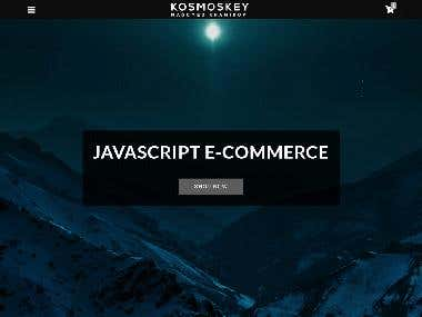 E-commerce (Javascript project)