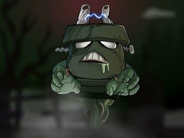 Halloween Cartoon Animation