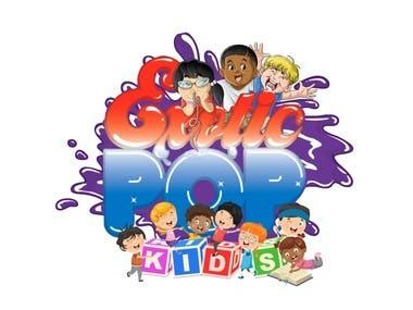 Exotic Pop Kids - 2D Logo Animation