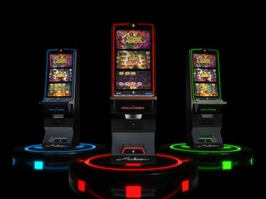 Electronic gaming machine 3D modelling