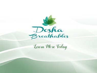 Dosha Breathables Essential Oils - Animated Infographics