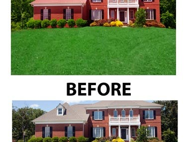 Real state Retouching