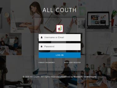 All Couth - Social Platoform