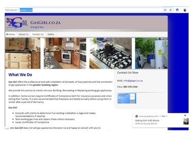 Gas girl Website Project