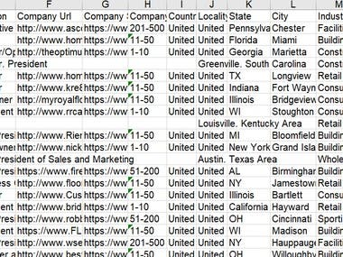 CEO Buyer Email List for your target customers