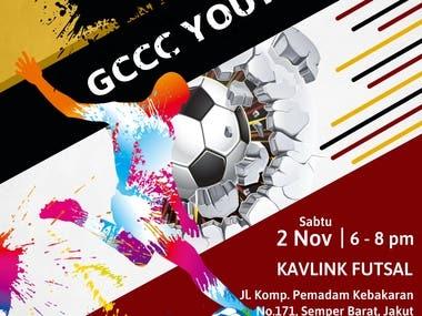 Flyer GCCC Futsal