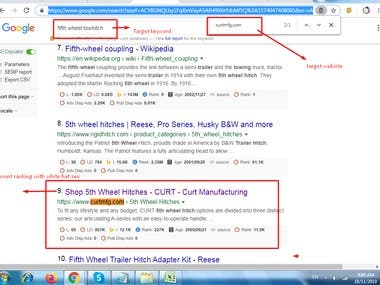 Get first page ranking with white hat seo