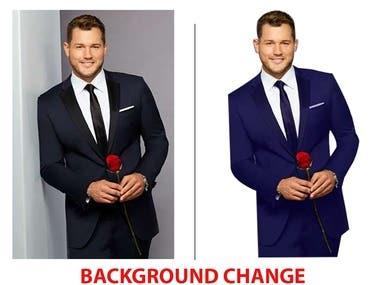 Background Change...