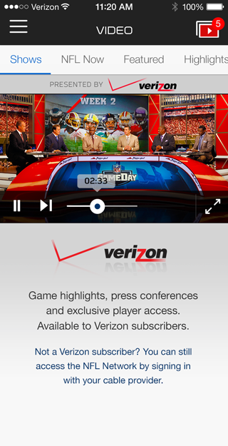 National Football League Mobile – By NFL, U.S.A