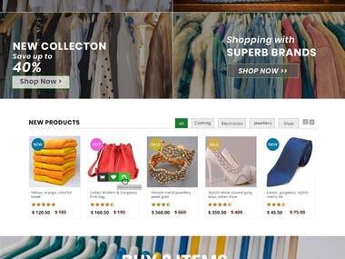 E-commerce Website Development with WooCommerce