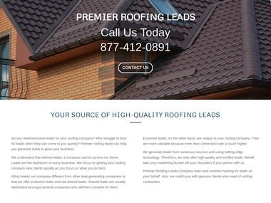 Premier Roofing Leads