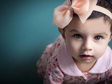 Baby Photoshoot And Retouching