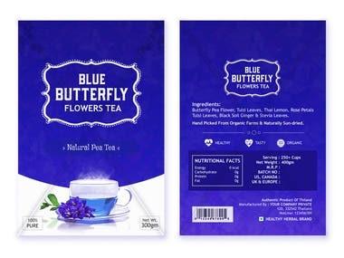 Tea Poly Pack Design
