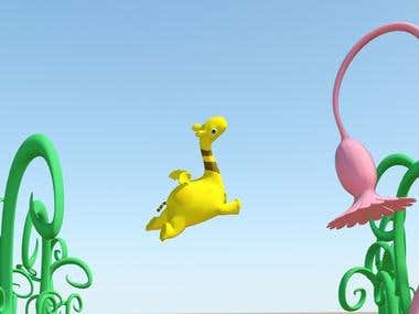 Animation & illustration example