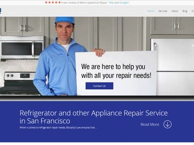 Refrigerator and other Appliance Repair Service