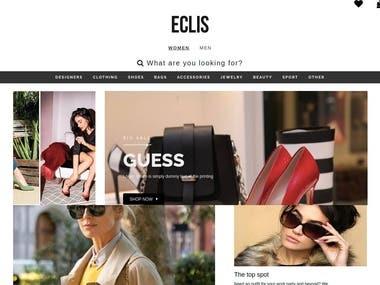 ECLIS eCommerce Website