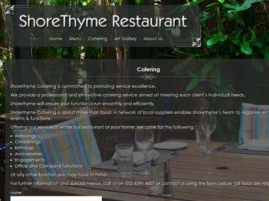 Shorethyme Restaurant
