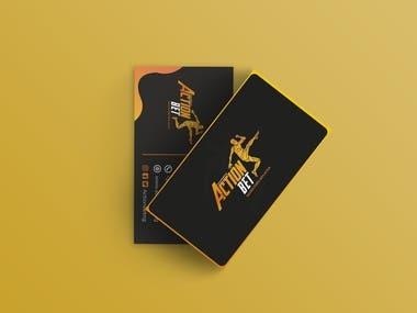 Actionbet Business Card