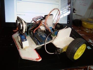 Object Avoider Robot