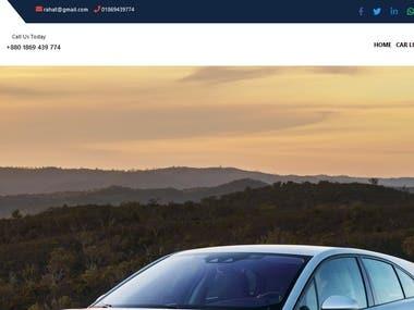 Online car showroom management