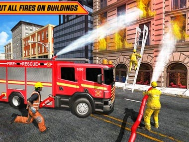 Emergency FireFighter Game