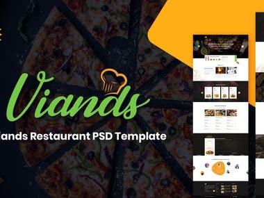 Resturant Website Design