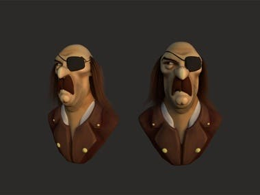Pirates- Character Design