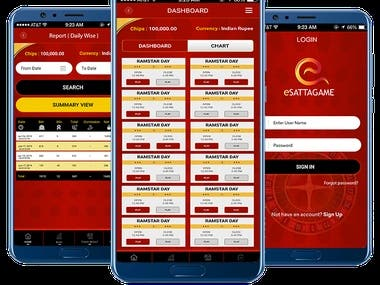 E-Satta Game Application(MATKA)