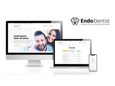 EndoDentist - Logo & Branding