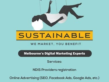 Flyer/Brochure and Banner design.
