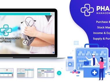 PharmaSale - Pharmacy Management Desktop Software