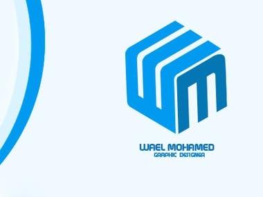 wael mohamed logo design