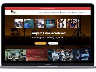 Kanpur Film Academy website