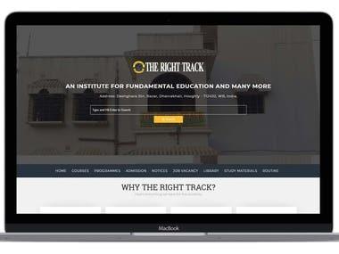 Coaching Institute Website