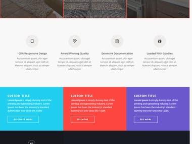 Redesign WordPress Website