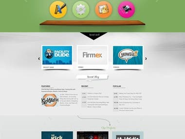 Website Design (HTML/CSS/WORDPRESS)