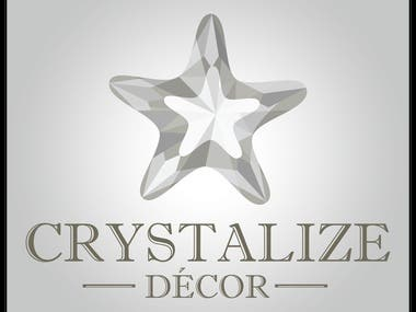 Logo Design - Crystalize Décor
